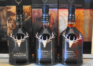 THE DALMORE THE CLANS COMPLETE COLLECTION MALT WHISKY
