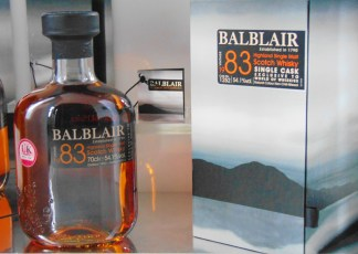 BALBLAIR 83 VINTAGE SINGLE CASK#1252 30YO SINGLE MALT WHISKY