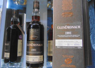 GLENDRONACH 1991 22 YEAR OLD SINGLE CASK#1346 SINGLE MALT WHISKY